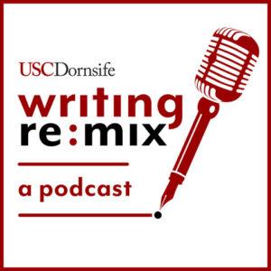 Writing remix podcast logo